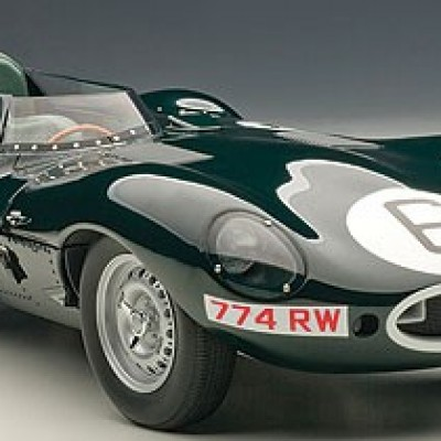 AUTOART Jaguar D-Type #6 J.M. Hawthorn