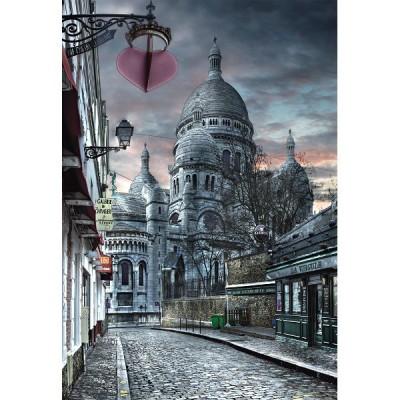 1000 EL. Paris, Montmartre