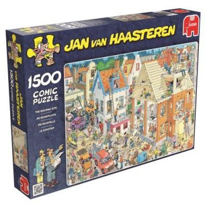 1500 EL. Plac budowy Jan van Haasteren