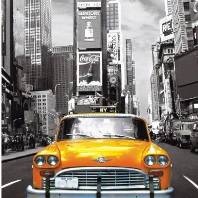 1000EL. TAXI NO. 1 NEW YORK