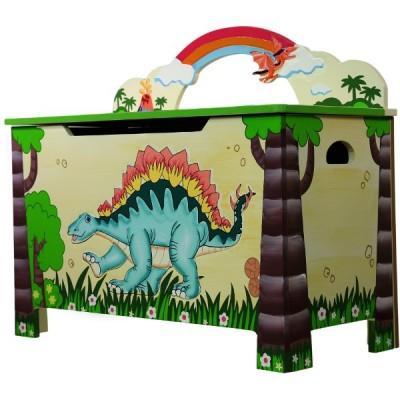 Dinozaury Skrzynia Na Zabawki