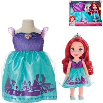 JAKKS Arielka + sukienka dla dziewczynek