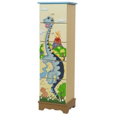 F.FIELDS Dinosaur Komoda 5 szuflad