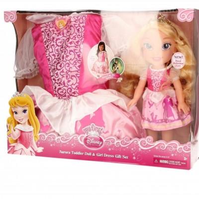 JAKKS Aurora +sukienka d la dziewczynek