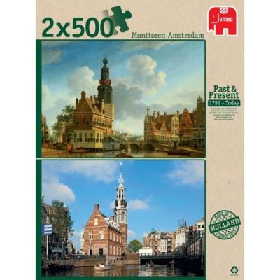 2 x 500 EL Munttoren Amsterdam