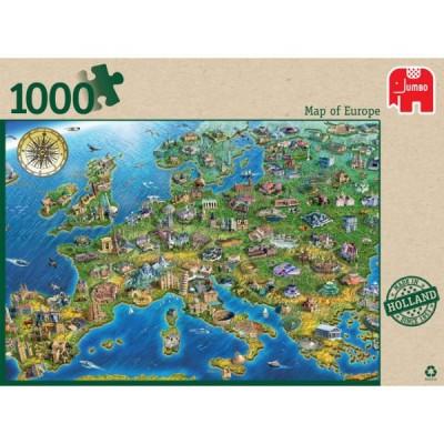 1000 EL Mapa Europy