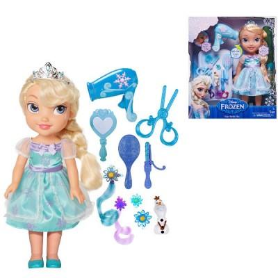 Frozen Elsa + zestaw do włosów