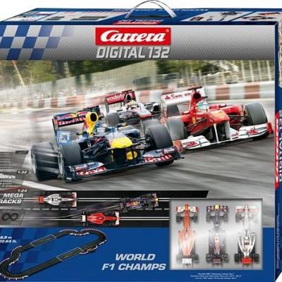 CARRERA Digital 132 Worl d F1 ChampsSold Out
