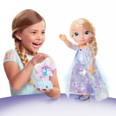 Elsa w blasku zorzy polarnej