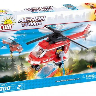 Action Town Helikopter straży pożarnej