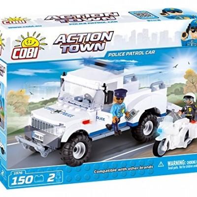 Action Town Policyjny samochód patrolowy