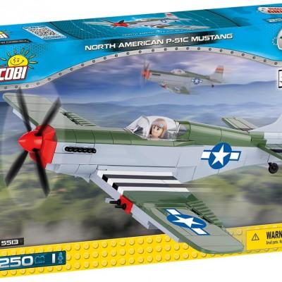 Armia North American P-51C Mustang - myśliwiec amerykański