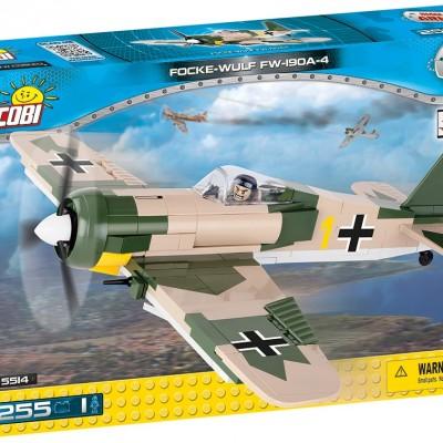 Armia Focke-Wulf Fw 190 A-4 - myśliwiec niemiecki