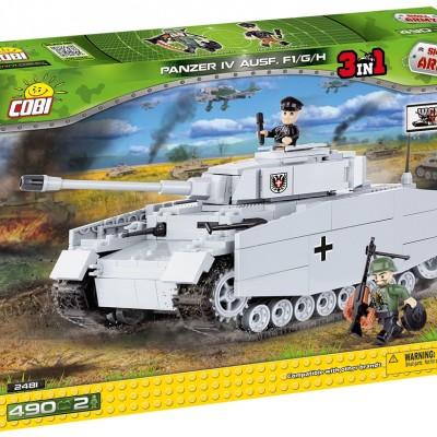 Armia Panzer IV F1/G/H - niemiecki czołg średni