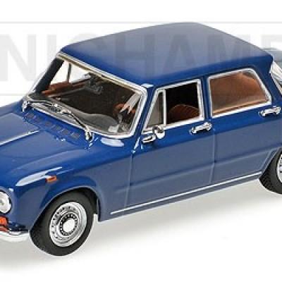 Alfa Romeo Giulia 1600 1970 (blue)