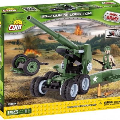 Armia 155mm Gun M1 Long Tom 155 ELEMENTÓW