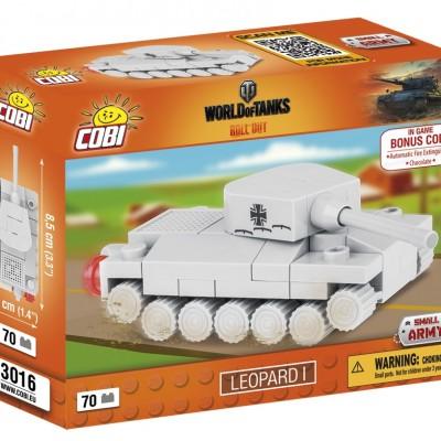 Armia Nano Tank Leopard I 70 ELEMENTÓW
