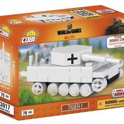 Armia Nano Tank Tygrys I 70 ELEMENTÓW