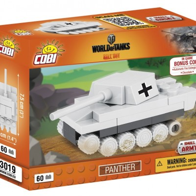 Armia Nano Tank Panther 60 ELEMENTÓW