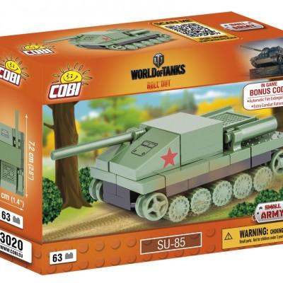Armia Nano Tank Su-85 63 ELEMENTY