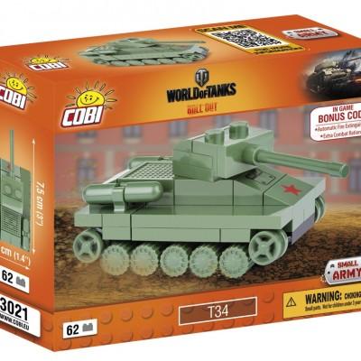 Armia Nano Tank T-34 62 ELEMENTY